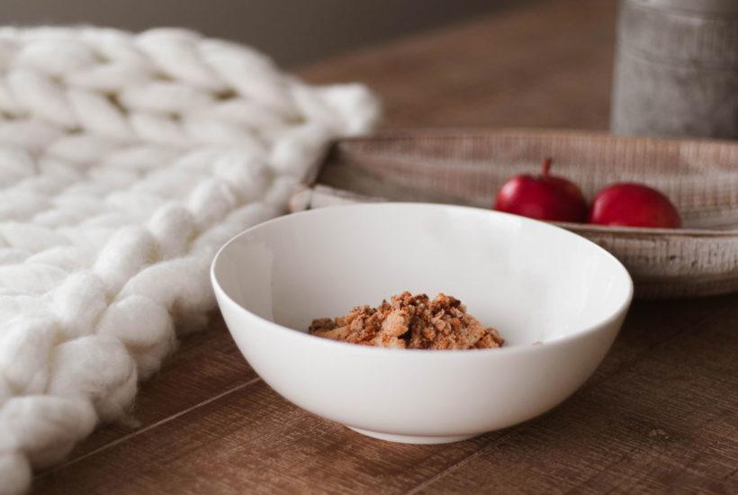 Recette de croustade aux pommes paléo et vegan