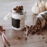 Recette paléo granola à la citrouille